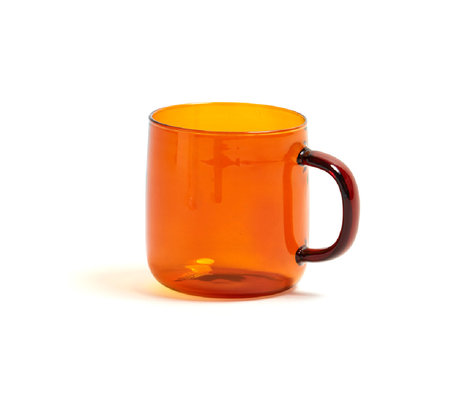 HAY Kopje Borosilicate 300ml terracotta glas ¯8x8,5cm