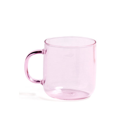 HAY Kopje Borosilicate 300ml roze glas ¯8x8,5cm