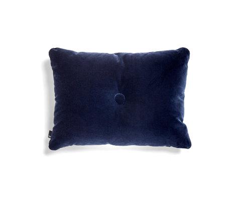 HAY Sierkussen Dot Soft donkerblauw textiel 60x45cm
