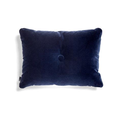 HAY Cushion Dot Soft dark blue textile 60x45cm