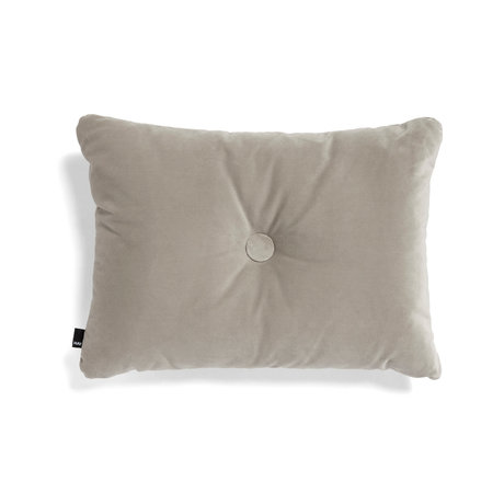 HAY Throw pillow Dot Soft beige textile 60x45cm