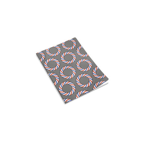 HAY Notitieboekje Mean Machine A4 Nationalist Donuts multicolour papier 21x29,7cm