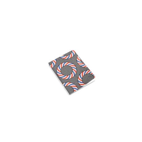 HAY Notitieboekje Mean Machine A6 Nationalist Donuts multicolour papier 10,5x14,8cm