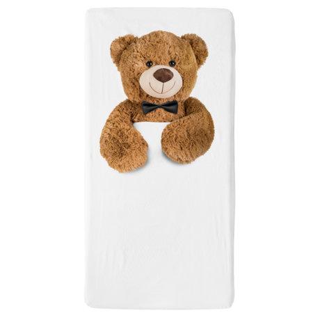 Snurk Beddengoed Bettwäsche Spannbetttuch Teddy mehrfarbiges Textil 60x120cm