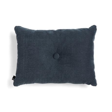 HAY Sierkussen Dot donkerblauw textiel 60x45cm