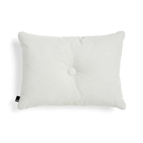 HAY Cushion Dot light gray textile 60x45cm