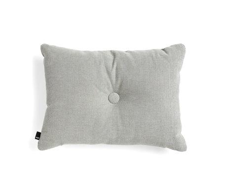HAY Sierkussen Dot grijs textiel 60x45cm