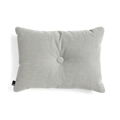 HAY Decorative pillow Dot gray textile 60x45cm
