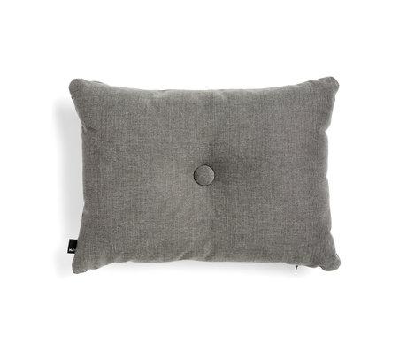 HAY Sierkussen Dot donkergrijs textiel 60x45cm