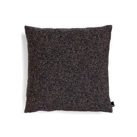 HAY Kissen Eklektisch blaues Textil 50x50cm