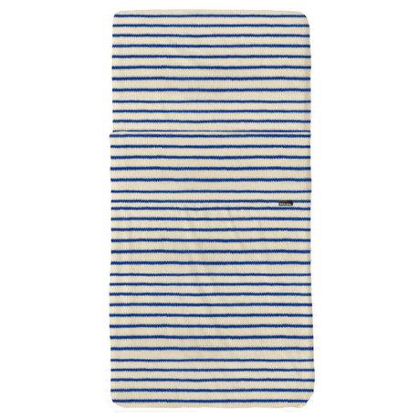 Snurk Beddengoed Beddengoed set Breton Bonsoir blauw textiel 60x120cm + 120x150cm