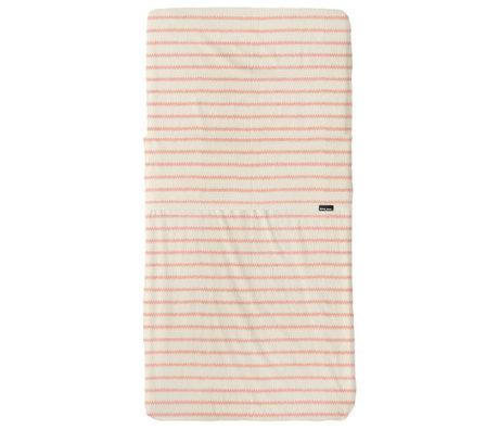 Snurk Beddengoed Beddengoed set Breton Bonsoir roze textiel 70x140cm + 120x150cm
