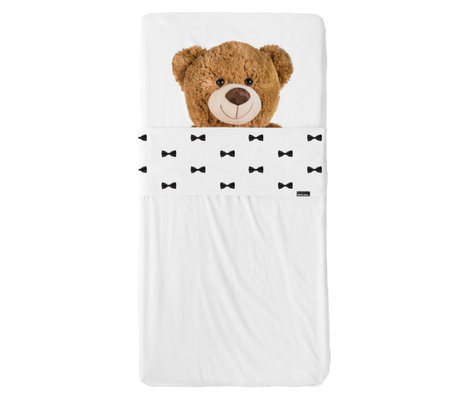 Snurk Beddengoed Bettwäsche-Set Teddy mehrfarbiges Textil 60x120cm + 120x150cm