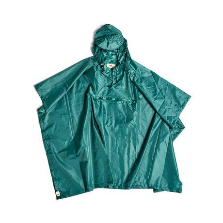 HAY Poncho Mono Rain groen kunststof 127x100cm