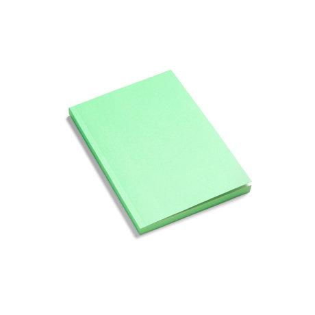HAY Notitieboekje Mono groen papier 21x15cm