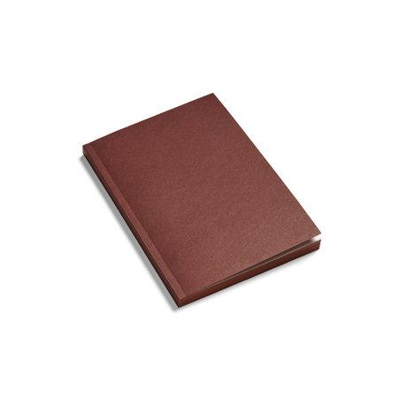 HAY Notitieboekje Mono bruin papier 21x15cm