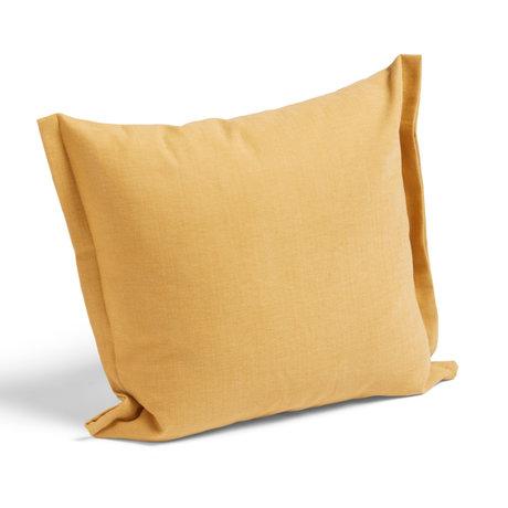 HAY Kussen Plica Tint geel textiel 60x55cm