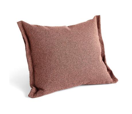 HAY Kussen Plica Sprinkle roze textiel 60x55cm