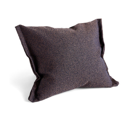 HAY Kissen Plica Streuen Sie dunkelblaues Textil 60x55cm