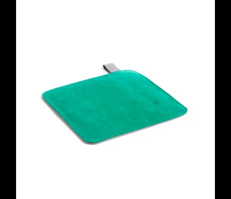 HAY Pannenlap Pot groen textiel 21,5x21,5cm