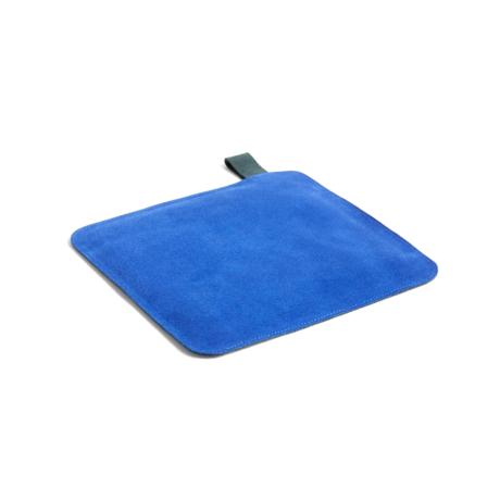 HAY Pannenlap Pot blauw textiel 21,5x21,5cm
