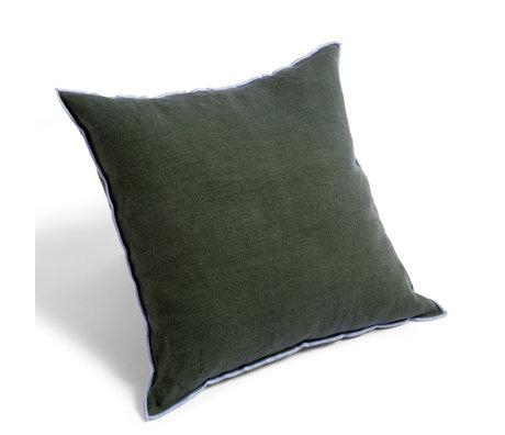 HAY Sierkussen Outline groen textiel 50x50cm