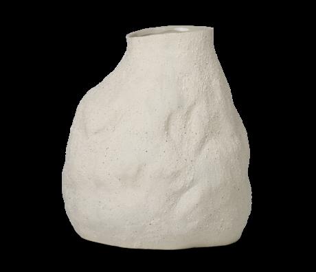 Ferm Living Vaas Vulca large gebroken wit geglazuurd steengoed 30x27x45cm