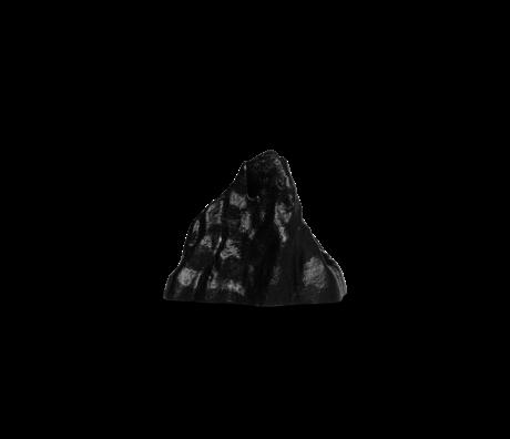 Ferm Living Kandelaar Stone small zwartaluminium 5,02x3,75x3,69cm