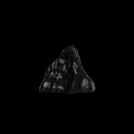 Ferm Living Kandelaar Stone large zwart aluminium 8,85x7,75x6,77cm