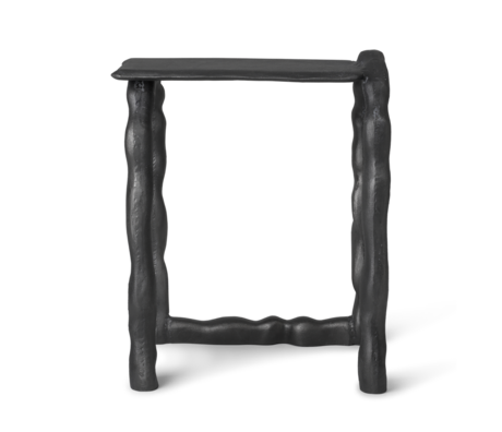 Ferm Living Sculptuur Rotben zwart aluminium 45x32x54cm
