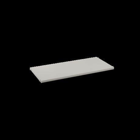Ferm Living Plank Punctual lichtgrijs gepoedercoat metaal 90x39,6x2,3cm