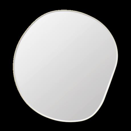 Ferm Living Spiegel Pond XL goud verzinkt messing 87x1,5x94cm