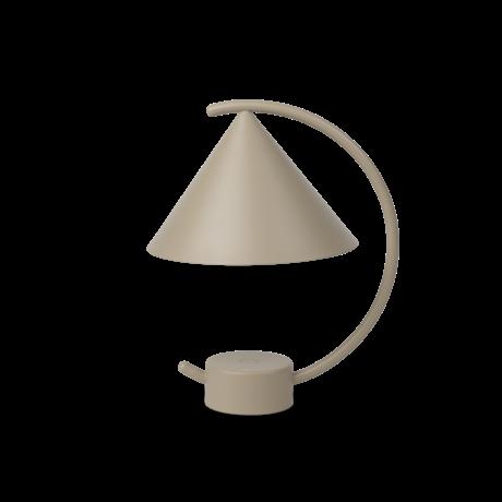 Ferm Living Tafellamp Meridian kasjmier gepoedercoat metaal 20,9x17x26cm