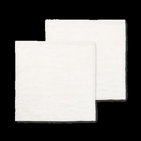 Ferm Living Servet Linen gebroken wit linnen 45x45cm set van 2