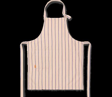Ferm Living Schort Hale roze blauw katoen linnen 72x86cm