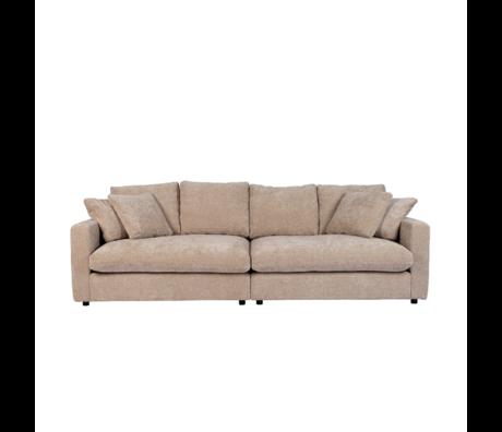 Zuiver Sofa Sense 3-zits natuur textiel 266x113x85cm