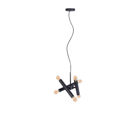 Zuiver PENDANT LAMP HAWK BLACK TRIPLE