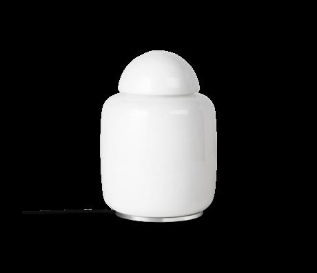 Ferm Living Tafellamp Bell wit opaalglas Ø20,5x27,7cm