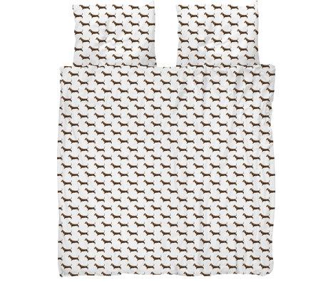 Snurk Beddengoed Snurk beddengoed dekbedovertrek james multicolour textiel 240x200/220cm