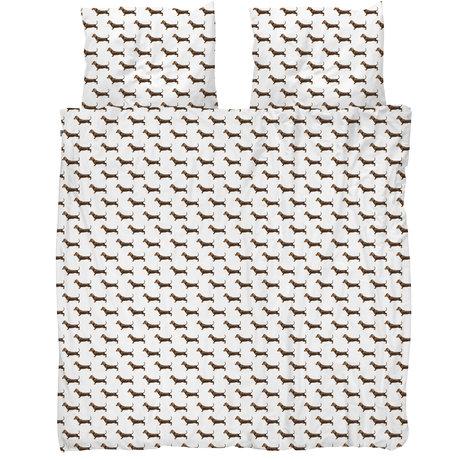 Snurk Beddengoed Snurk beddengoed dekbedovertrek james multicolour textiel 260x200/220cm