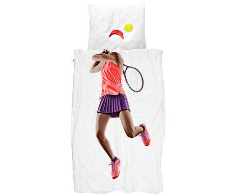 Snurk Beddengoed Housse de couette Snurk Bedding Tennis Pro textile multicolore foncé 140x200 / 220cm
