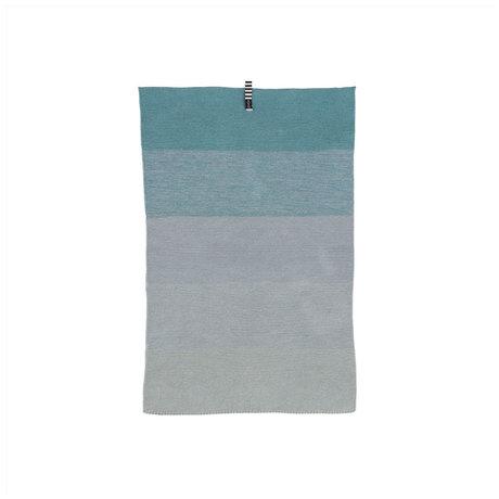 OYOY Mini handdoek Niji blauw katoen 58x38cm