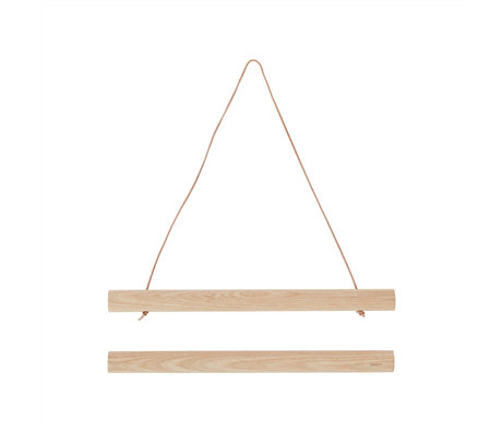 OYOY Posterframe natuur bruin hout 2,5x33cm