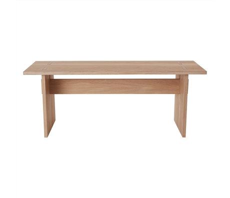 OYOY Bank Kotai natuur bruin hout 43x110x35cm
