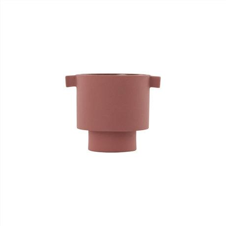 OYOY Pot Inka Kana small sienna Ø10,5x10,5cm