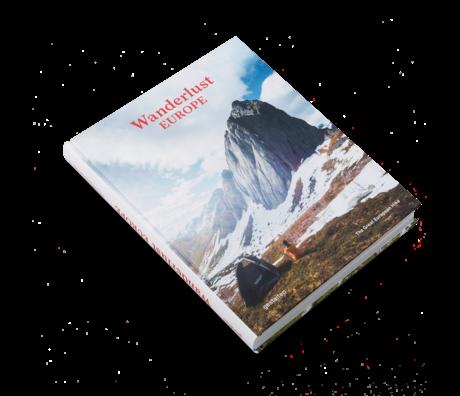 Gestalten Buch Wanderlust Europe mehrfarbiges Papier 22,5x29cm