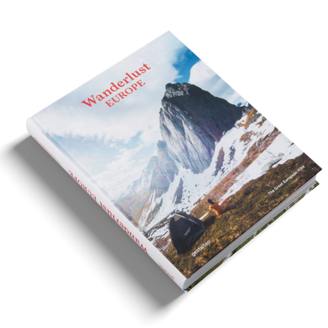 Gestalten Boek Wanderlust Europe multicolour papier 22,5x29cm