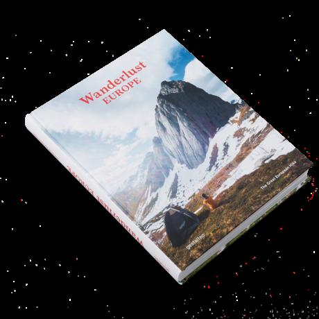 Gestalten Livre Wanderlust Europe papier multicolore 22,5x29cm