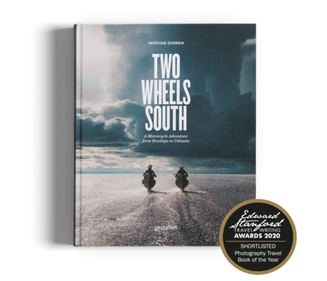 Gestalten Livre Two Wheels South multicolore papier 21x26cm