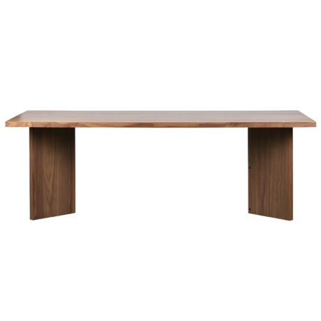 vtwonen Eettafel Angle notenhout 75x220x90cm